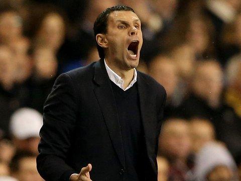 TRENGER ET MIRAKEL: Gus Poyet og Sunderland rykker trolig ned etter sesongen.