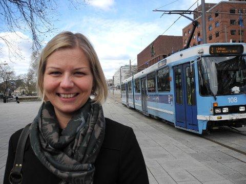 MÅ BLI MYE BEDRE: - Vi er nødt til å forbedre oss kraftig når det gjelder luftkvalitet, sier Guri Melby, byråd for miljø og samferdsel i Oslo.