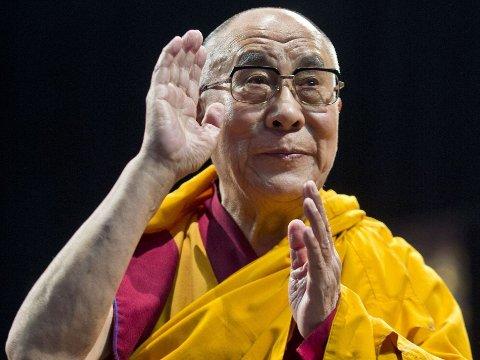 KOMMER: Tibets åndelige leder i eksil, Dalai Lama, kommer på norgesbesøk.