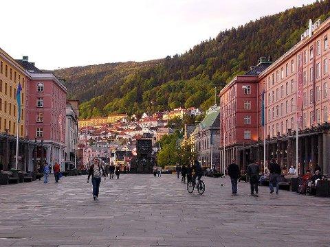 Illustrasjonsbilde: Torgallmenningen i Bergen.
