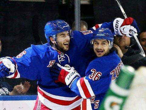ALT AVGJØRES I SISTE KAMP: New York Rangers har kommet sterkt tilbake i NHL-sluttspillet.