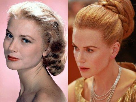 NICOLE KIDMAN er relativt lik Grace Kelly av utseende, men var 15 år eldre enn henne da hun spilte henne i «Grace of Monaco».
