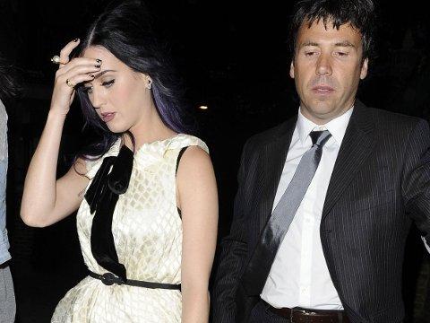 PRØVER PÅ NYTT: Flere utenlandske medier hevder at Katy Perry og Rob Ackroyd er blitt sammen igjen. Her er et bilde av kjendisparet fra 2012.