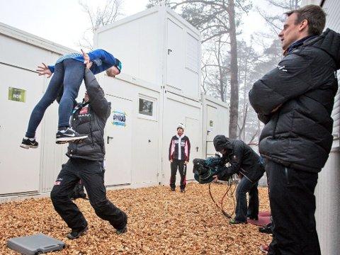 FÅR NY ASSISTENT: Alexander Stöckl og Magnus Brevig får enda mer hjelp til å følge opp landslagshopperne i den kommende sesongen.