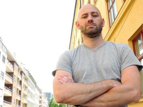 TOK AFFÆRE: Da Kjetil Osnes Bøe hørte at regjeringen vil innføre først lokalt, så nasjonalt tiggeforbud, tok han affære.