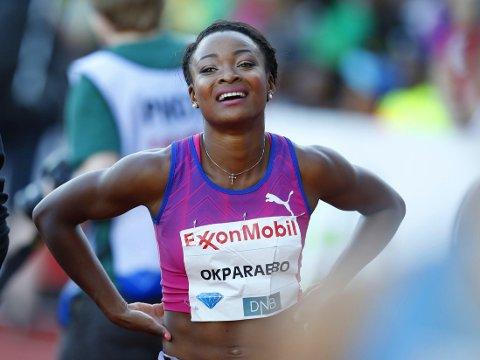VANT: Ezinne Okparaebo var raskest på 100-meteren under lag-EM i Tallinn.