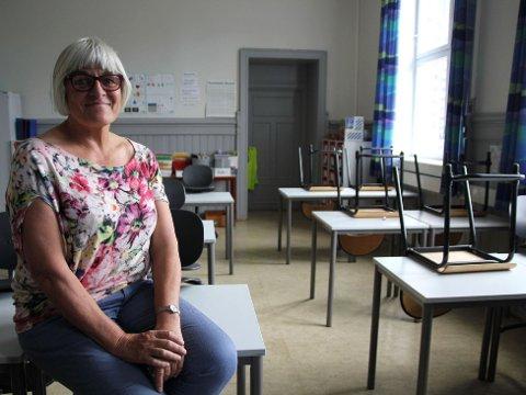 TOMME PULTER: Elevene på Grünerløkka skole har tatt ferie og rektor Ellen Lühr håper alle kommer tilbake i tide til skolestart.