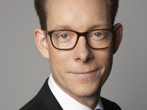 ANSVARLIG STATSRÅD: Tobias Billström, minister for innvandring og asylpolitikk i den svenske regjeringen.