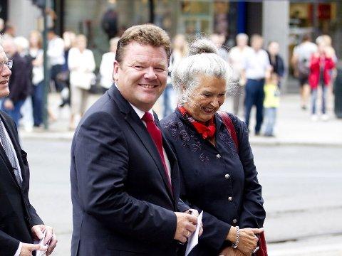DJUPEDAL: Øystein Djupedal er leder og primusmotor for Arendalsuka. Her er han fotografert i forbindelse med markeringen av Det norske kronprinsparets tiårs bryllupsdag.