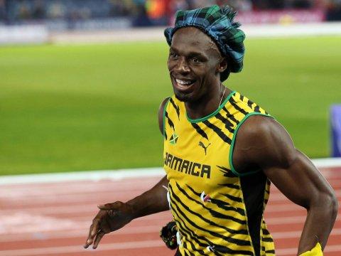 SLUTTER: Om to år legger friidrettsikonet Usain Bolt (27) løpeskoene på hylla.