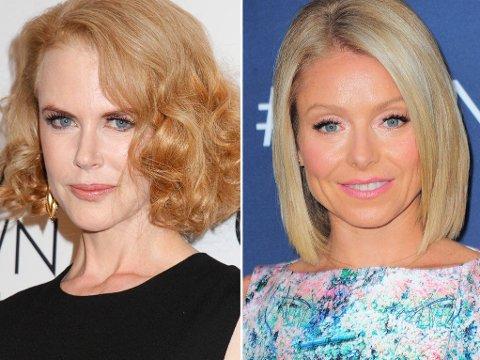 Nicole Kidman synes det var fint å få mimikken tilbake i ansiktet etter at hun sluttet med Botox, mens Ripa er åpen om at hun setter pris på injeksjonsbehandlingene.