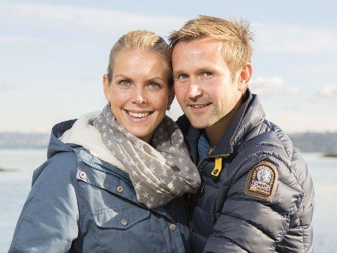 JAKTEN-PARET Øyvind Leine Thune og Elise Edvardsen har fått en sønn.