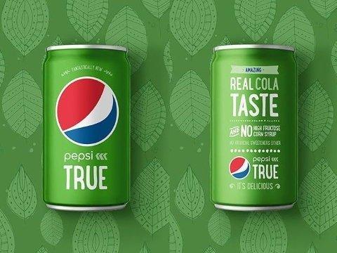PEPSI MED STEVIA: «Pepsi True» kom på markedet i oktober 2014.