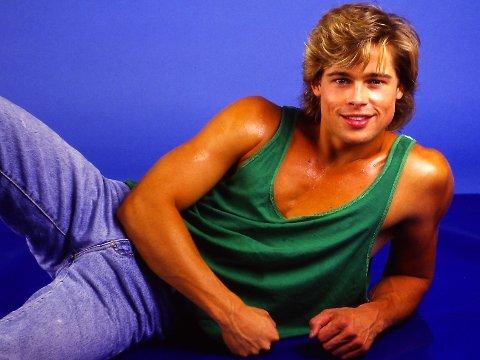 Slik har du aldri sett Brad Pitt.
