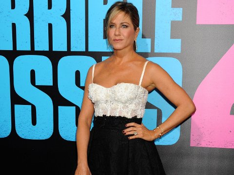 JENNIFER ANISTON på filmpremiere i november.