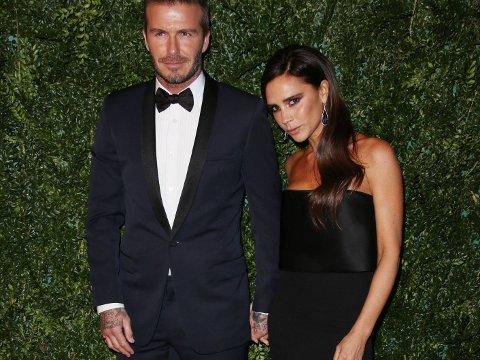 Evening Standard Theatre Awards, London, Britain - 30 Nov 2014 David Beckham and Victoria Beckham