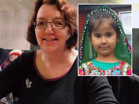 STØTTESPILLER: Anna Ramskov Larsen i Sandnessjøen kjemper for Sonyas (innfelt) familie skal få de rettighetene de har krav på.