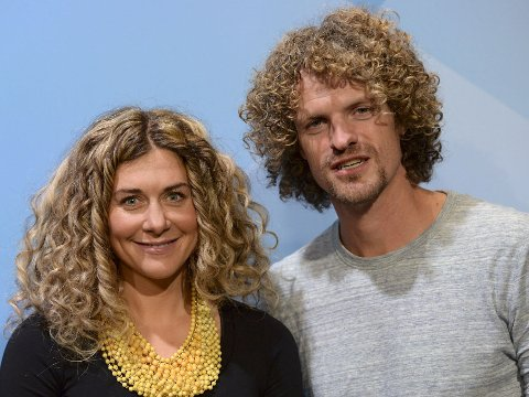 TIDENES JULEGAVE: Cecilie Skog og Aleksander Gamme ble foreldre 8.desember.