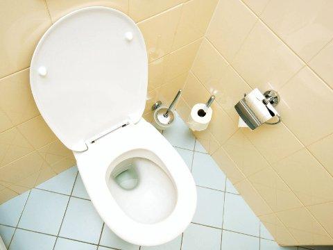 PÅ TOALETTET: Utseendet på urinen kan avsløre din helsetilstand.
