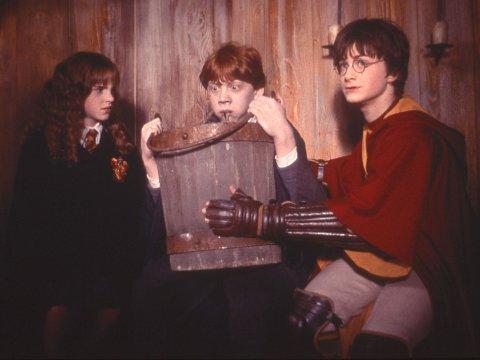 NYE TEKSTER: Potter-fasen får nye tekster om den populære trollmannen som julegave fra forfatter J.K. Rowling..