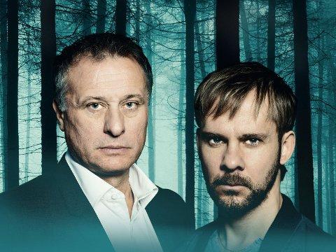 Michael Nyqvist og Dominic Monaghan i «100 Code».