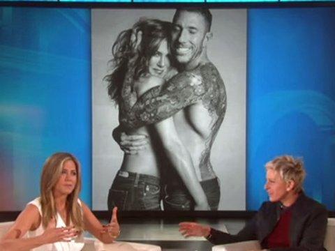 PÅ TV: Jennifer Aniston har flere ganger gjestet «The Ellen Show».