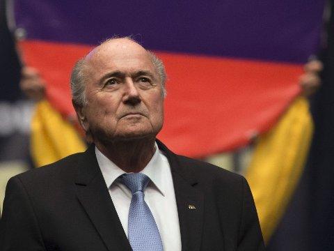 BLIR GJENVALGT? Sepp Blatter er favoritt til å inneha tittelen FIFA-president også etter valget senere i år.