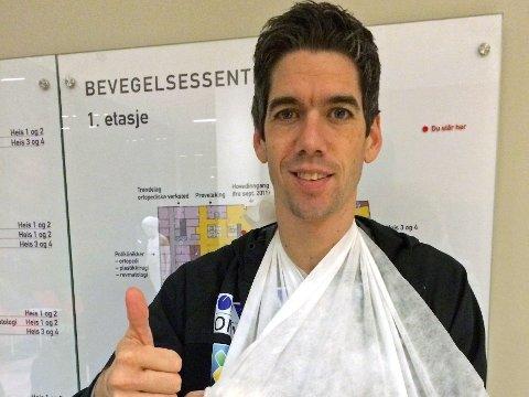 Anders Bardal (32) var onsdag i forrige uke gjennom en vellykket operasjon på St. Olavs hospital i Trondheim.