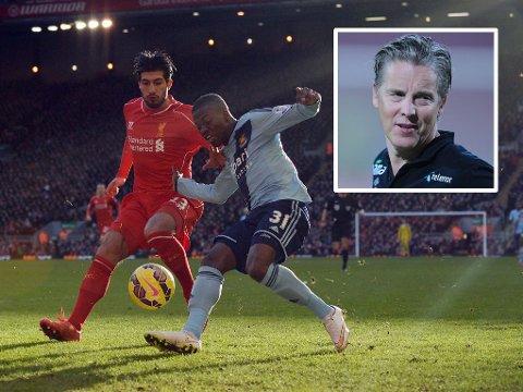 I STORFORM: Liverpools Emre Can.