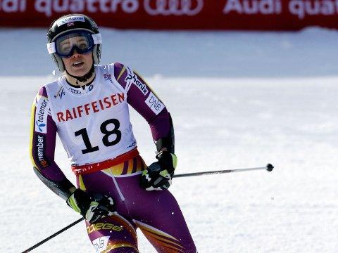 BARE NESTEN: Nina Løseth klarte ikke å følge opp den gode første omgangen.