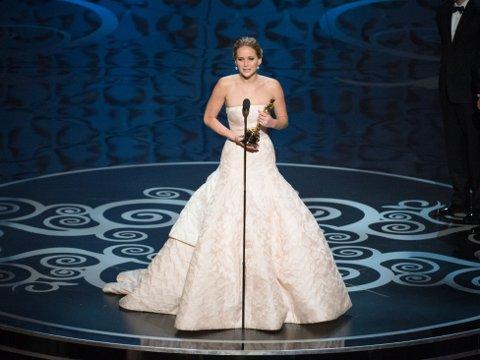 Jennifer Lawrence i en DRØM av en Dior!
