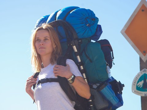 VILL IDE: Reese Witherspoon som Cheryl Strayed i Wild.