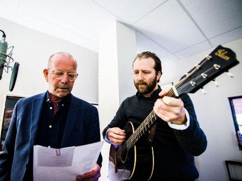MØTTES PÅ TV: Jonas Fjeld og Thom Hell fant tonen under innspillingen av Hver gang vi møtes i fjor, og tok den med seg hele veien inn i platestudioet.