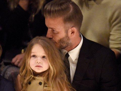 Harper + pappa = sant.