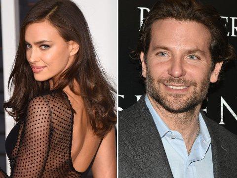 NYTT STJERNEPAR: Irina Shayk og Bradley Cooper.