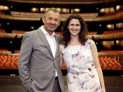 SJEFENE: Operasjef Per Boye Hansen og ballettsjef Ingrid Lorentzen leder det kreative arbeidet ved Den norske opera. Han byttes ut når åermålet hans går ut i 2017.