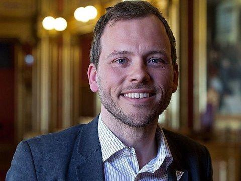 LIGGER TYNT AN: Audun Lysbakken og hans parti ligger tynt an på en ny meningsmåling Norstat har gjort for Vårt Land.