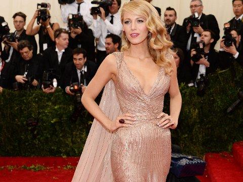 BRONDE: Blake Lively har stort sett alltid vært blond, men nå har hun gått for trendfargen bronde.
