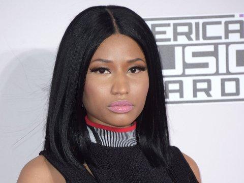 GRAVID? Nicki Minaj kom med hentydninger om at hun og kjæresten Meek Mill skal bli foreldre, under konserten i helgen.