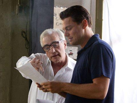 DUO: Martin Scorsese og Leonardo DiCaprio har gitt hverandre suksess i andre del av karrieren. Her under The Wolf of Wall Street