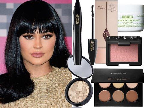 SMINKEFAVORITTER: Kylie Jenner deler sine favorittprodukter i nytt intervju.