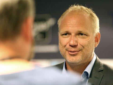 KLAR TALE: Odd-trener trener Dag-Eilev Fagermo er klar på hvem som bestemmer, også overfor klubbens nye førstelagsspiller.
