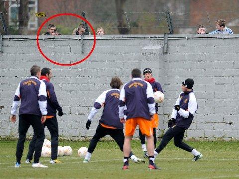 SNIKTITTERE: Liverpool har fått nok av fans som spionerer på treningene.