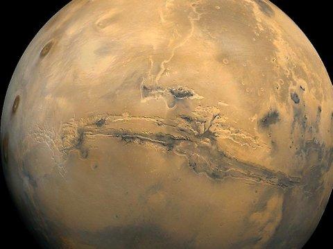 NASA hevder de har løst mysteriet Mars.