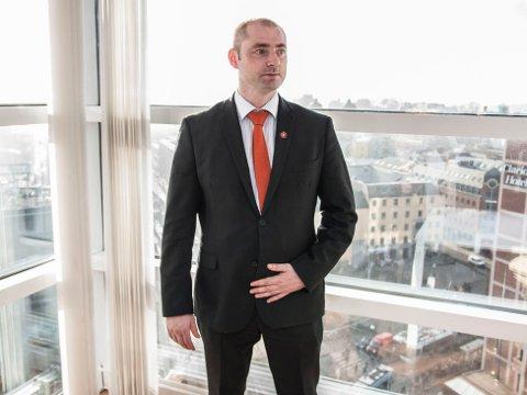 Statsråd Robert Eriksson (Frp), arbeids- og sosialminister.