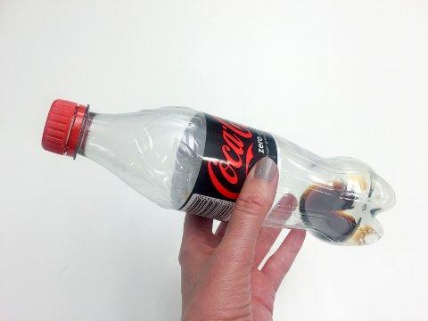 Det er ikke farlig å drikke siste rest av flaska.
