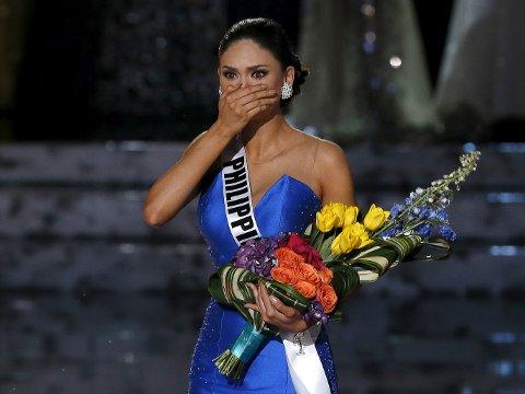MISS UNIVERSE: Pia Alonzo Wurtzbach fra Filippinene måtte levere fra seg kronen igjen,