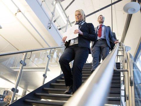 FORSLAG PÅ HØRING: Innvandrings- og integreringsminister Sylvi Listhaug (Frp) presenterte tirsdag innstrammingstiltak for å gjøre det mindre attraktivt å søke asyl i Norge.