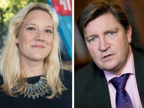 VIL STRAMME INN: Aina Stenersen, som er innstilt som leder i Oslo Frp før årsmøtet lørdag, vil sammen med Christian Tybring-Gjedde be lokalpartiet gå inn for å stramme inn norsk asylpolitikk ytterligere.
