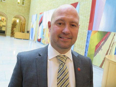 INGEN KOMMENTAR: Justisminister Anders Anundsen (Frp) vil ikke kommentere den foreløpige rapporten.